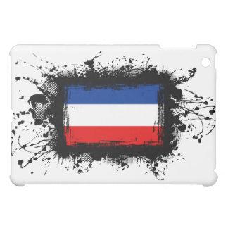 Jugoslawien-Flagge iPad Mini Hülle