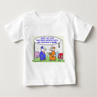 Jugoslawien importierte Teile Baby T-shirt