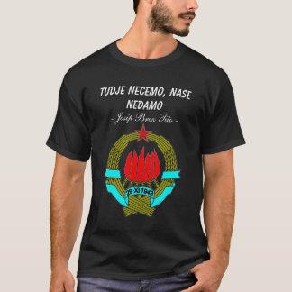 Jugoslawien stellen dar T-Shirt