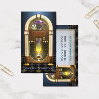 Jukebox-Visitenkarte Visitenkarte