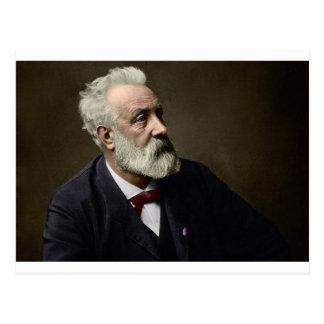 Jules Verne im Jahre 1892 Postkarte