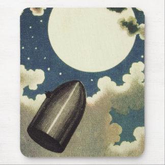 Jules Verne von der Erde zum Mond (1865) Mousepad