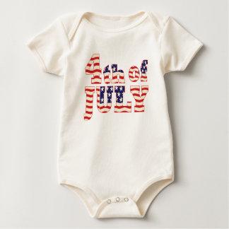 Juli 4. baby strampler