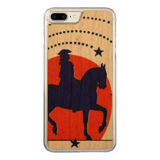 Juli der 4. Pferdpatriotische Unabhängigkeitstag Carved iPhone 8 Plus/7 Plus Hülle