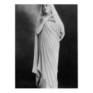 "Julia Bartet ""im Antigone"" durch Sophocles Postkarte"