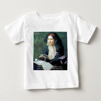 """Julia-Bezirk Howe """"Ihr Glauben-"""" Baby T-shirt"""