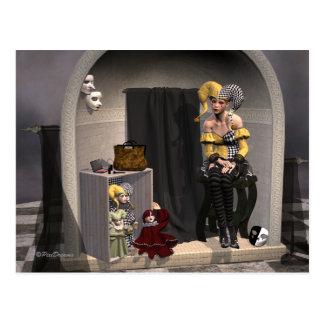 """""""Julia Marionetten-Theater-"""" - Postkarte"""
