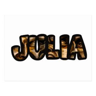 JULIA POSTKARTE