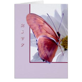 Julia-Schmetterling Karte