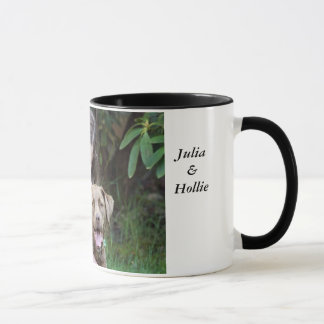 Julia u. Hollie Tasse
