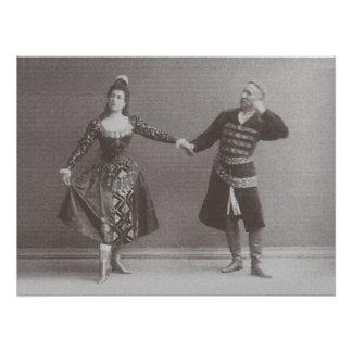 Julia und Felix Kschessinsky im mazu Poster