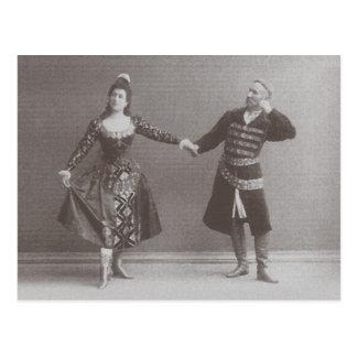 Julia und Felix Kschessinsky im mazu Postkarte