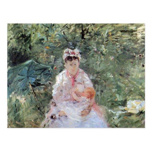Julie Manet durch Berthe Morisot Postkarten
