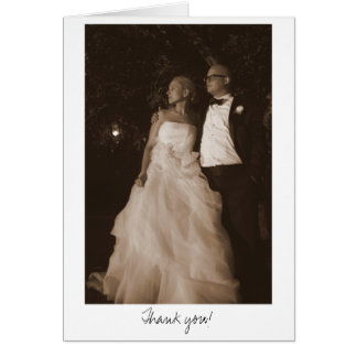 Julie - n Matt, der 4x6 (Sepia) Wedding ist - 335, Grußkarte