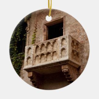 Juliets Balkon Keramik Ornament