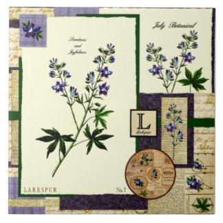 Julis Blume Keramikfliese