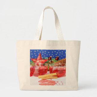 Jumbo Einkaufstasche frohe Weihnachten