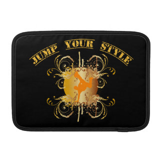 Jump your style - yellow sleeves fürs MacBook air