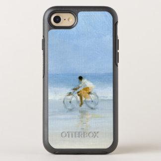 Junge auf Fahrrad 2 OtterBox Symmetry iPhone 8/7 Hülle