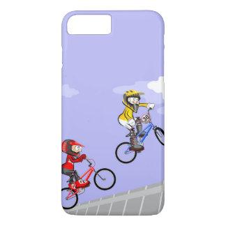 JUNGE BMX Radsport konkurriert durch den sehr iPhone 8 Plus/7 Plus Hülle