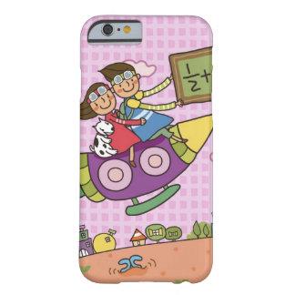 Junge, der eine Tafel ein sitzt MIT einem Mädchen Barely There iPhone 6 Hülle