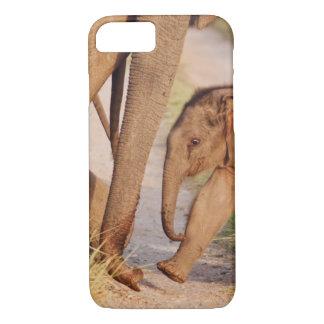 Junge eine des indischen asiatischen Elefanten iPhone 8/7 Hülle