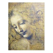 junge Frau 2 Postkarte