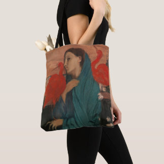 Junge Frau mit IBIS Tasche