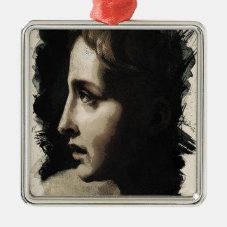 Junge Gesichter von der letzten Reihe durch Adam Silbernes Ornament