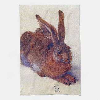 Junge Hasen durch Albrecht Durer, Geschirrtuch