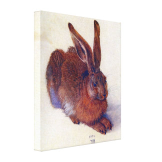 Junge Hasen durch Albrecht Durer, Renaissance-Kuns Gespannter Galeriedruck