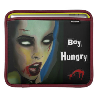 """Junge hungriges"" (Zombie) iPad Sleave iPad Sleeve"