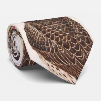 Junge Island-Falke Gould Vögel von Großbritannien Personalisierte Krawatte