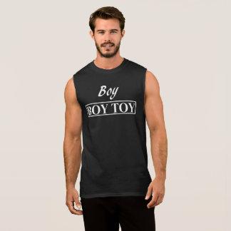 Junge JUNGEN-SPIELZEUG-Entwurf von verbogenen Ärmelloses Shirt