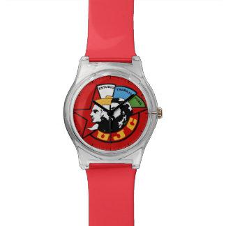 Junge kommunistische Liga KUBA Armbanduhr