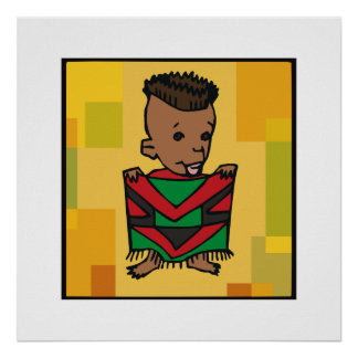 Junge Kwanzaa Poster