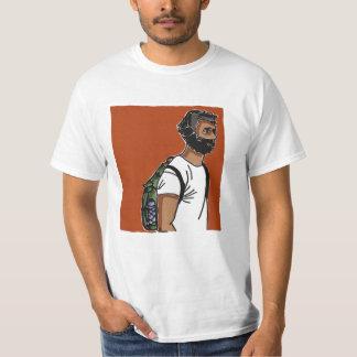 Junge mit weißem T - Shirt