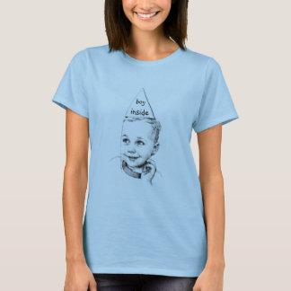 Junge nach innen T-Shirt