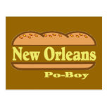 Junge New Orleans PO Postkarte