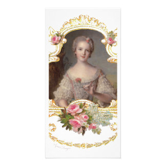Junge Prinzessin Louise Marie der Frankreich-Foto- Foto Karten Vorlage