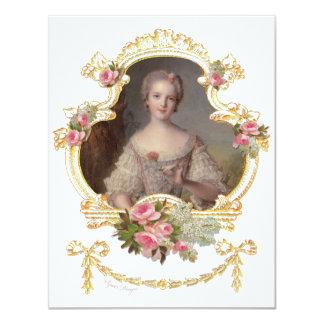 Junge Prinzessin Louise Marie von Personalisierte Einladungen