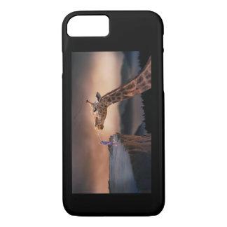 Junge trifft Giraffe IPhone Fall iPhone 8/7 Hülle