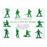 Jungen-Armee-Thema-Geburtstags-Einladung
