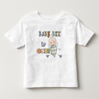 Jungen-Baby-Bienen-1. Geburtstags-T-Shirts und Hemden