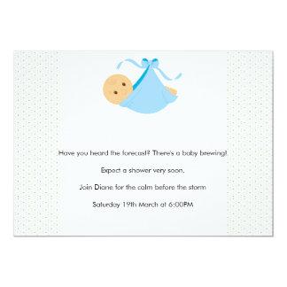 Jungen Babyparty Einladung Karte
