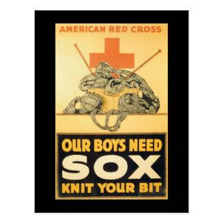 Jungen-Bedarfsox-Zweiter Weltkrieg Postkarte