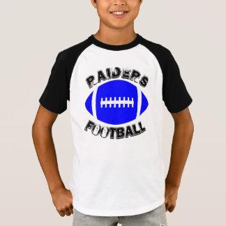 Jungen-blaues Fußball-Spieler-kundenspezifisches T-Shirt