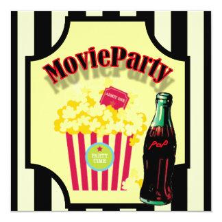 Jungen-Film-Geburtstags-Party Einladung