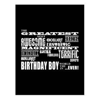 Jungen-Geburtstage: Am beststen der meiste Postkarte