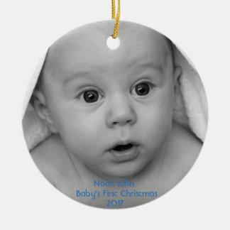 Jungen-Gewohnheits-Verzierung des Babys erste Keramik Ornament